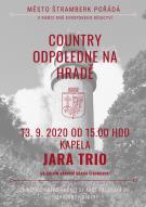Country odpoledne na hradě - kapela Jara Trio